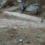 سنگفرش روستای کاوه ده