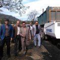 فرماندار - بخشدار - شفت - روستای مبارک آباد چوبر