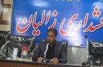 بازدید بخشدار زالیان از پروژ های عمرانی روستای نهرمیان