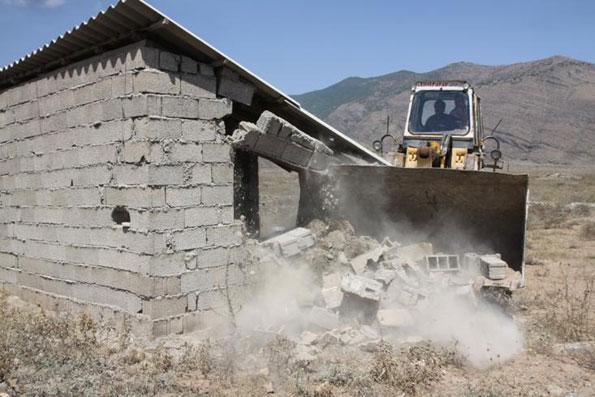 ساخت و ساز غیرمجاز روستایی