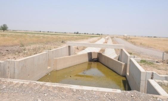 پروژه شبکه آبیاری و زهکشی قرهسو