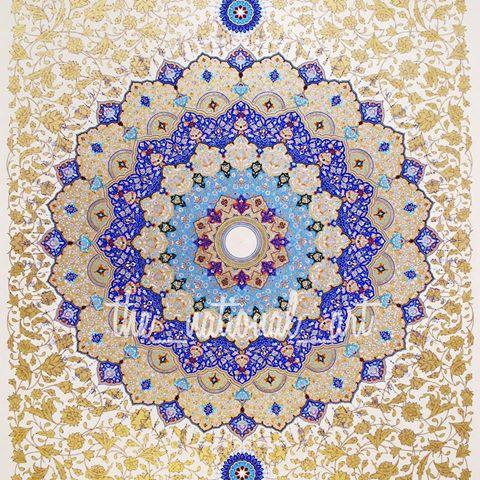 هنر تذهیب صنایع دستی اردبیل