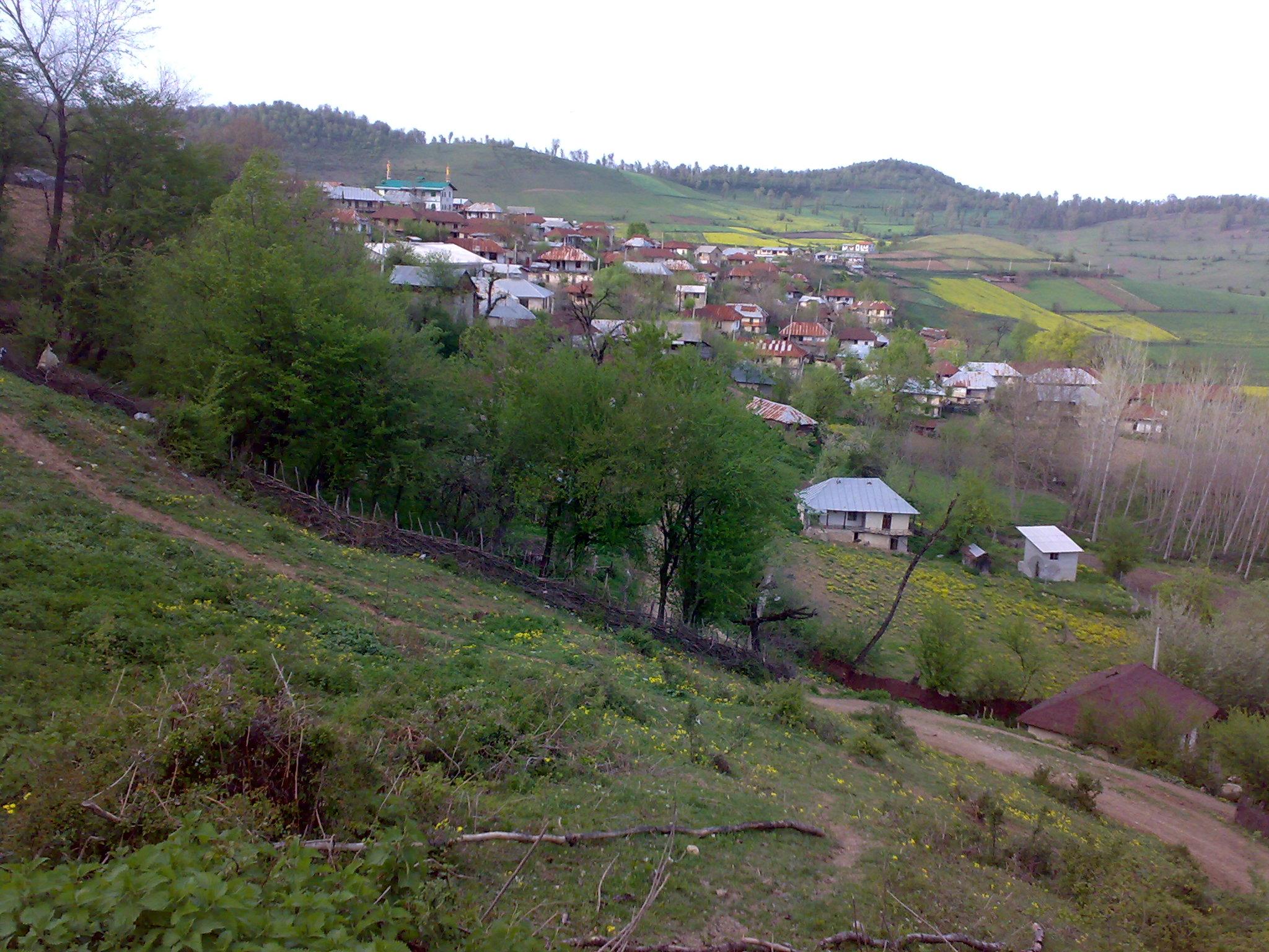 روستای آبکسر شهرستان ساری