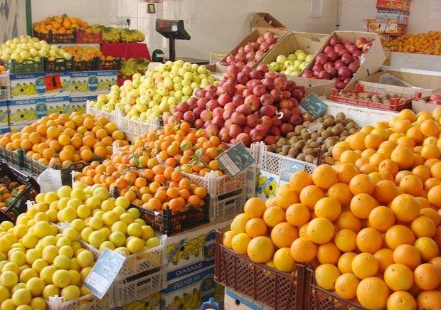 پرتقال های رنگ زرد