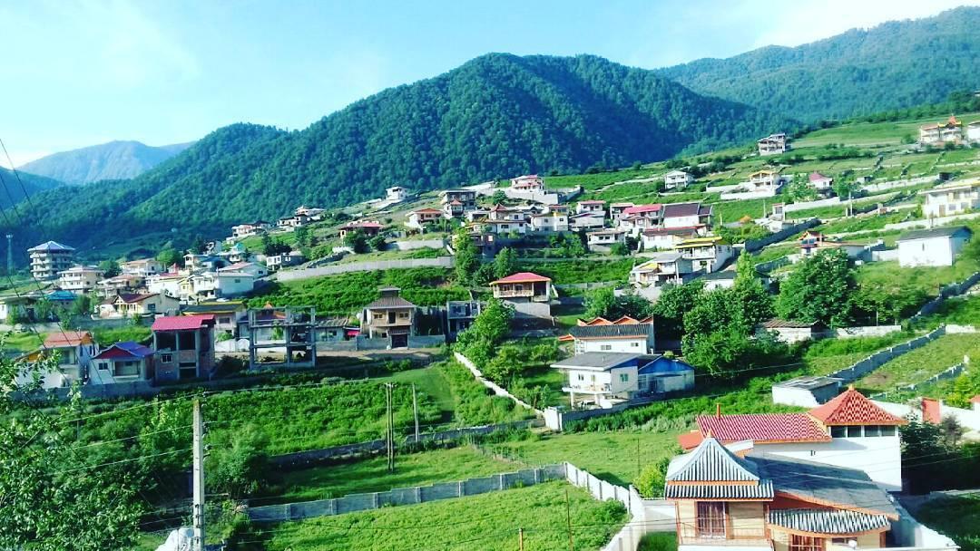 روستای لاویج شهرستان نور