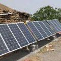 برق رسانی خورشیدی
