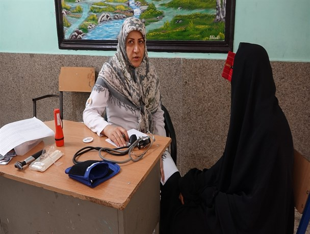 ارائه خدمات بهداشتی و درمانی رایگان در سیریک (+تصاویر)