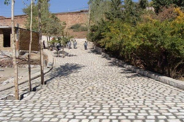 بهسازی معابر روستاهای دشتی