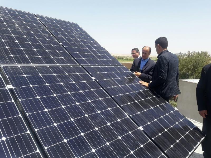 تولید برق در دهیاری استان تهران با خورشید