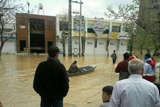 تخریب 30 تا 50 در صدی 200 روستا مازندران در بحران سیل