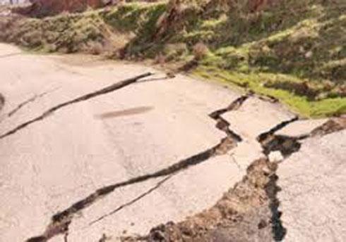 خطر رانش در روستاهای شهرستان بویراحمد