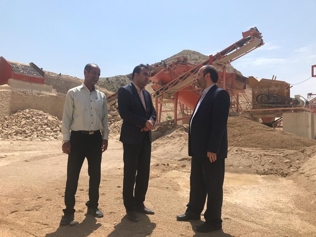هیات اعزامی سازمان شهرداری ها و دهیاری ها و وزارت کشور از استان بوشهر بازدید کردند.