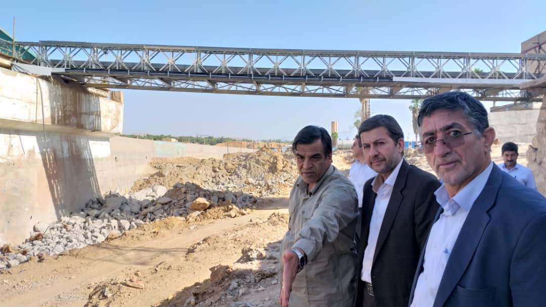 بازدید رئیس سازمان شهرداریها و دهیاریهای کشور از روستای چم مهر شهرستان پل دختر
