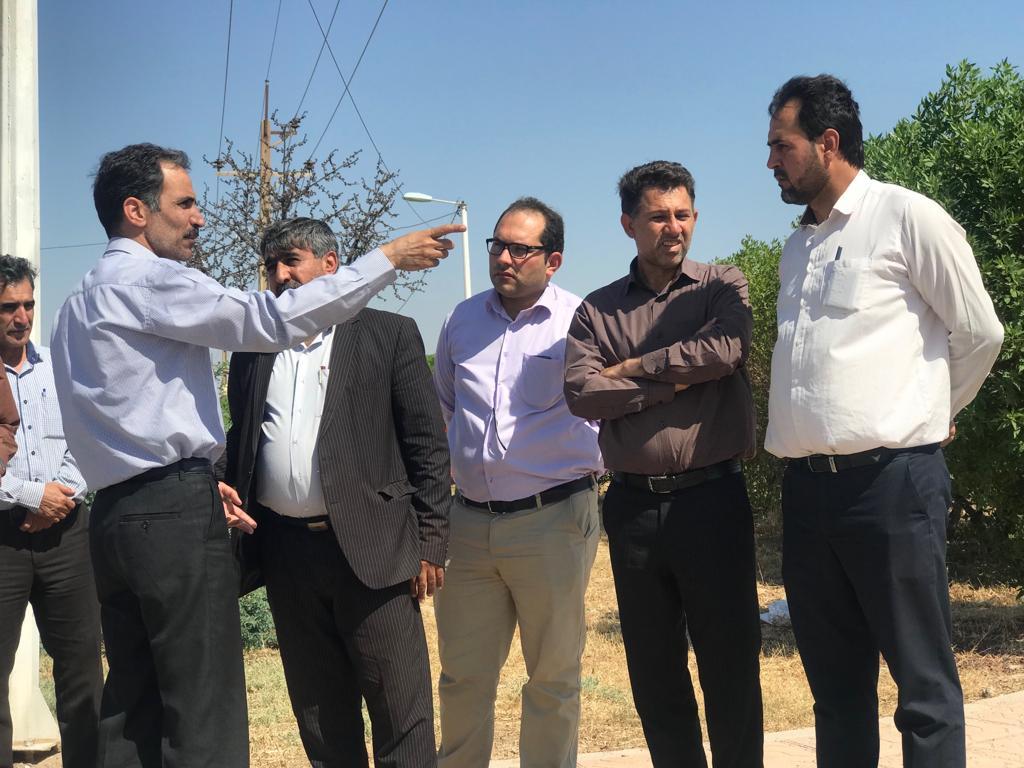 رییس مرکز مطالعات برنامه ریزی شهری و روستایی از مناطق سیلزده لرستان و خوزستان بازدید نمود