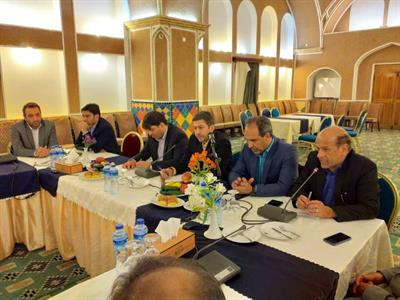 نشست شهرداران استان يزد با حضور معاون عمراني وزير كشور