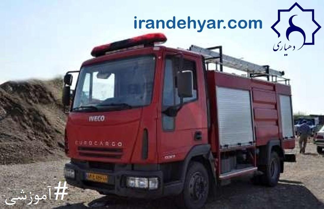 فرآیند جذب و بکار گیری کارکنان وظیفه پایگاه آتش نشانی روستایی