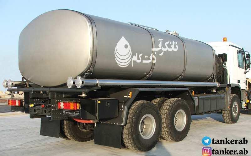 آغاز واگذاری خودروهای تانکر آب به شهرداری ها