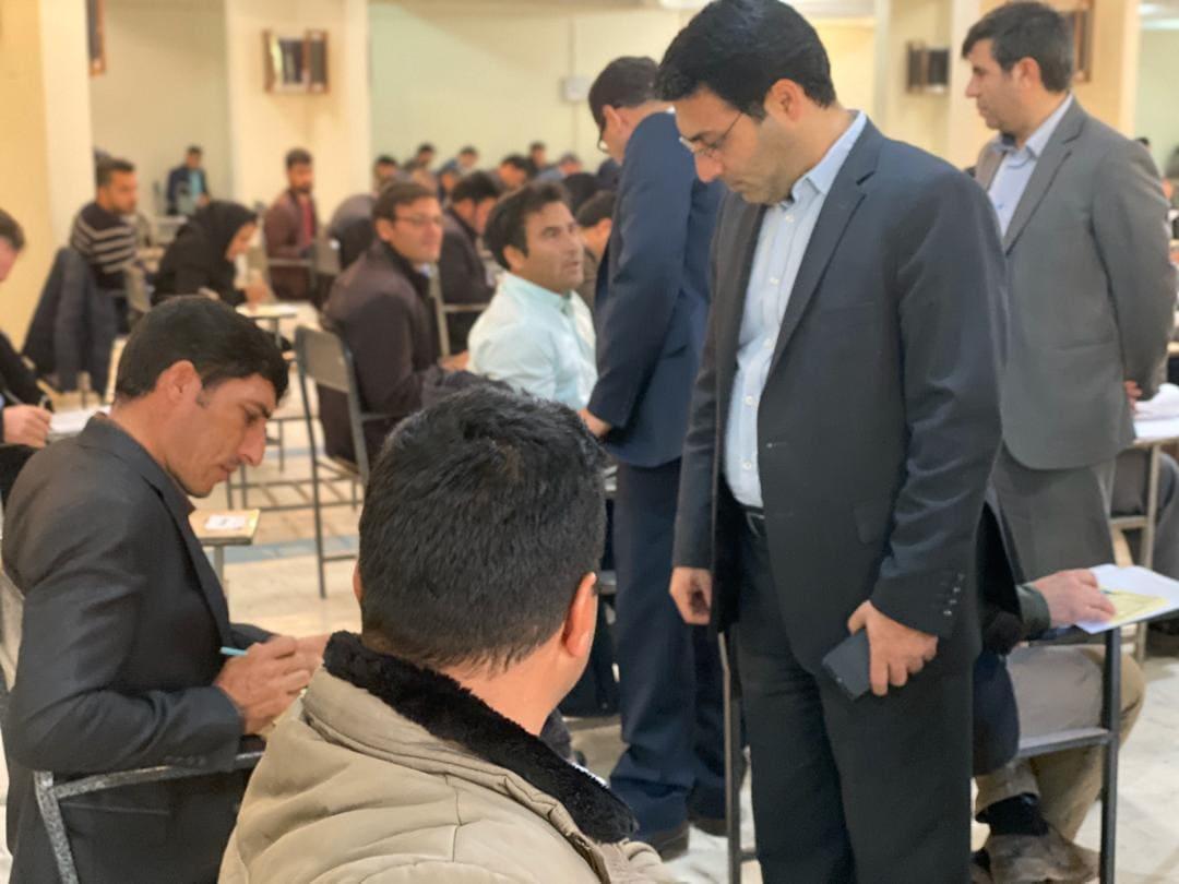 برگزاری آزمون مکاتبه ای دهیاران استان آذربایجان شرق