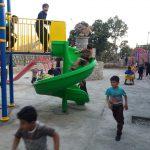 احداث پارک کودک در روستای برقرو