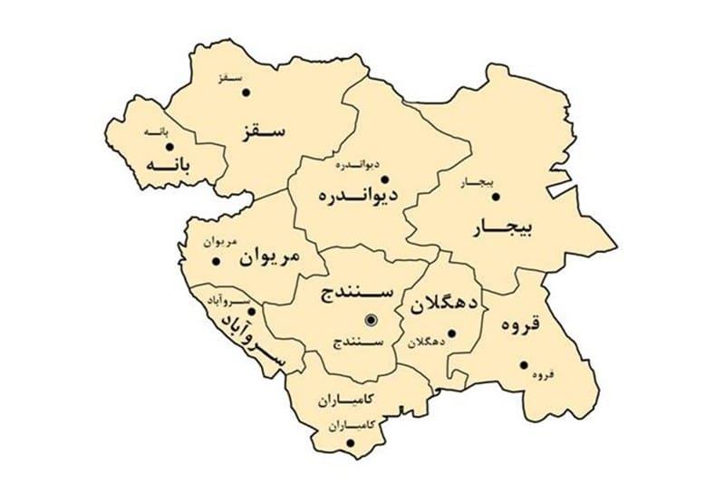 ارتقادرجه ۸۲ دهیاری استان کردستان